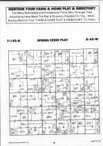 Spring Creek T142N-R42W, Becker County 1992 Published by Farm and Home Publishers, LTD